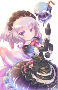 Rating: Safe Score: 31 Tags: dress lolita_fashion miu_(umaru_katia_no_hito) monster_girl ruru_(shironeko_project) shironeko_project tentacles User: Mr_GT