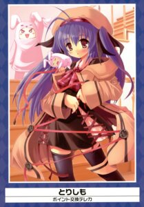 Rating: Safe Score: 16 Tags: thighhighs torishimo User: Aurelia