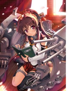 Rating: Safe Score: 64 Tags: bekkankou digital_version kantai_collection thighhighs yamato_(kancolle) User: Twinsenzw