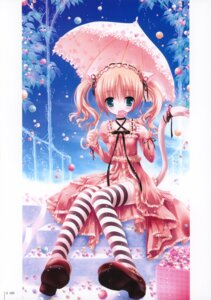 Rating: Safe Score: 16 Tags: animal_ears bell lolita_fashion nekomimi pantsu thighhighs tinkle User: fireattack