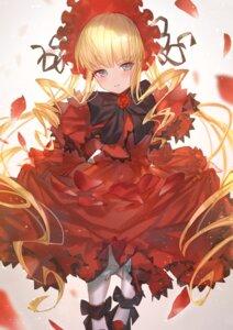 Rating: Safe Score: 20 Tags: dress gothic_lolita lolita_fashion makai_no_juumin rozen_maiden shinku skirt_lift User: Mr_GT