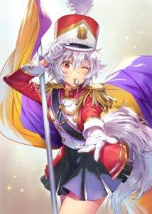 Rating: Safe Score: 15 Tags: inubashiri_momiji matsuda_(matsukichi) tail touhou uniform User: mash