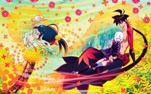 Rating: Safe Score: 10 Tags: katanagatari rinne_higaki togame wallpaper yasuri_shichika User: Ash89