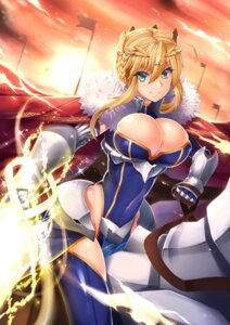 Rating: Safe Score: 37 Tags: armor artoria_pendragon_(lancer) butter-t cleavage fate/grand_order User: mash