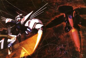 Rating: Safe Score: 5 Tags: gundam gundam_f91 mecha morishita_naochika User: Radioactive