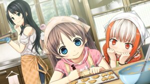 Rating: Safe Score: 29 Tags: arishima_nahoko cura game_cg lose monobeno sawai_natsuha sumi_(monobeno) User: 椎名深夏