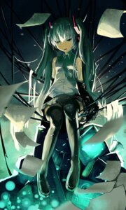 Rating: Safe Score: 24 Tags: gas hatsune_miku thighhighs vocaloid User: echidna_vita