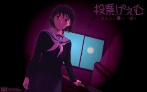 Rating: Questionable Score: 7 Tags: seifuku tatsuhiko wallpaper weapon User: Korino
