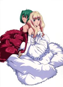 Rating: Safe Score: 20 Tags: 8bit dress macross macross_frontier ranka_lee sheryl_nome User: Radioactive