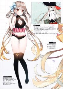 Rating: Safe Score: 49 Tags: ayamy cleavage hachigo sketch stitchme thighhighs witch User: kiyoe