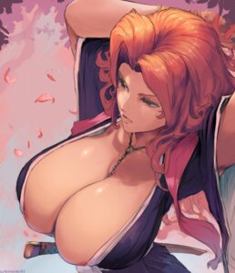 Rating: Questionable Score: 76 Tags: areola bleach kimono matsumoto_rangiku no_bra open_shirt robutts sword User: geb