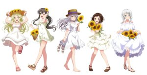 Rating: Safe Score: 39 Tags: bang_dream! dress hanazono_tae hazawa_tsugumi heels minato_yukina see_through skirt_lift summer_dress tagme tsurumaki_kokoro wakamiya_eve User: saemonnokami