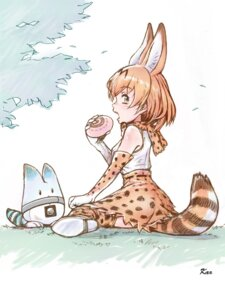 Rating: Safe Score: 16 Tags: animal_ears kemono_friends lucky_beast serval tail thighhighs yoshikawa_kazunori User: animeprincess