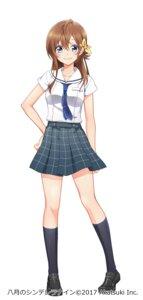 Rating: Safe Score: 10 Tags: hachigatsu_no_cinderella_nine seifuku User: saemonnokami
