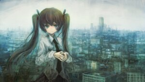 Rating: Safe Score: 33 Tags: hatsune_miku landscape op-center vocaloid User: PonyPokey