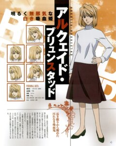 Rating: Safe Score: 6 Tags: arcueid_brunestud expression heels sweater tsukihime User: Fanla