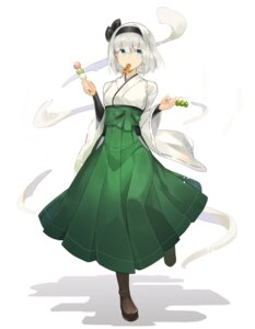 Rating: Safe Score: 19 Tags: japanese_clothes konpaku_youmu rin_falcon touhou User: Dreista