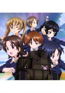 Rating: Safe Score: 8 Tags: girls_und_panzer headphones maruyama_saki megane oono_aya sakaguchi_karina sawa_azusa uniform utsugi_yuuki yamagou_ayumi User: drop