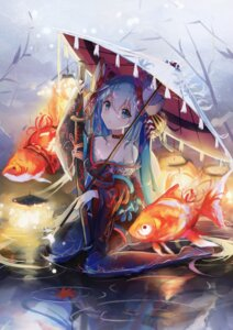Rating: Safe Score: 77 Tags: hatsune_miku japanese_clothes sakurano_shiyue thighhighs umbrella vocaloid User: Mr_GT