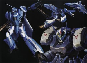 Rating: Safe Score: 8 Tags: binding_discoloration macross mecha tenjin_hidetaka User: oldwrench