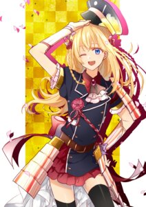 Rating: Safe Score: 31 Tags: akn92 armor midare_toushirou thighhighs touken_ranbu trap uniform User: joshuagraham
