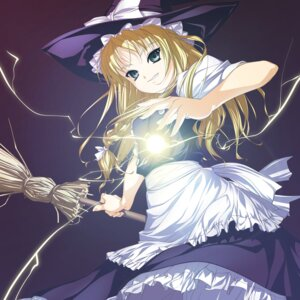 Rating: Safe Score: 23 Tags: digital_version enhance_heart kirisame_marisa rokuwata_tomoe touhou witch User: fireattack