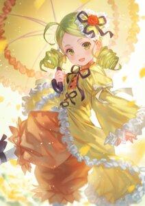 Rating: Safe Score: 17 Tags: bloomers dress kanaria lolita_fashion makai_no_juumin rozen_maiden umbrella User: Mr_GT