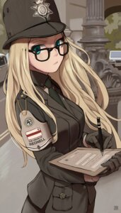 Rating: Safe Score: 31 Tags: march_(vabzonju) megane police_uniform User: blooregardo