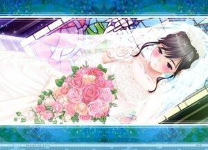 Rating: Safe Score: 43 Tags: dress love_plus mino_taro takane_manaka wedding_dress User: Wraith