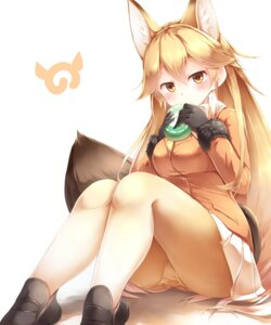 Rating: Safe Score: 49 Tags: animal_ears ezo_red_fox kanzakietc kemono_friends kitsune pantsu pantyhose tail User: RyuZU