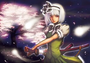 Rating: Safe Score: 5 Tags: dekisoko_rei konpaku_youmu touhou User: charunetra