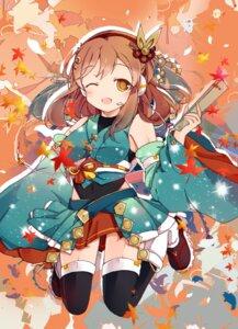 Rating: Safe Score: 18 Tags: bondson headphones japanese_clothes kunikida_hanamaru love_live!_sunshine!! thighhighs User: sym455