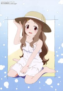 Rating: Safe Score: 39 Tags: aoba_kokona china_(animator) dress feet summer_dress yama_no_susume User: drop