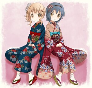 Rating: Safe Score: 25 Tags: furutani_himawari kimono oomuro_sakurako takahashi_(dega_mo) yuru_yuri User: ddns001
