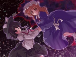 Rating: Safe Score: 5 Tags: lzh maribel_han touhou usami_renko wallpaper User: konstargirl