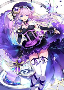 Rating: Safe Score: 31 Tags: cleavage megurine_luka thighhighs vocaloid yuuki_kira User: Mr_GT