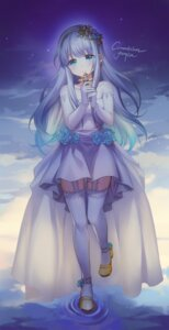 Rating: Safe Score: 22 Tags: alpha_(ypalpha79) dress heels stockings thighhighs User: Mr_GT