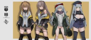 Rating: Explicit Score: 35 Tags: aegisfate g11_(girls_frontline) girls_frontline hk416_(girls_frontline) pantsu panty_pull pantyhose pussy pussy_juice seifuku skirt_lift thighhighs ump45_(girls_frontline) ump9_(girls_frontline) User: Mr_GT