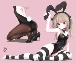 Rating: Questionable Score: 53 Tags: animal_ears ass bunny_ears bunny_girl cameltoe cleavage girls_und_panzer heels pantyhose shimada_arisu tagme tail thighhighs User: Mr_GT