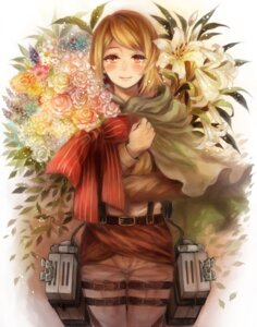 Rating: Safe Score: 11 Tags: mukimuki_mayuge petra_ral shingeki_no_kyojin uniform User: Radioactive