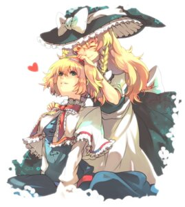 Rating: Safe Score: 14 Tags: alice_margatroid hizikiex kirisame_marisa touhou User: Radioactive