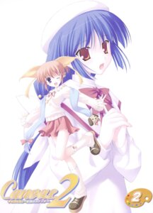 Rating: Safe Score: 8 Tags: canvas_2 disc_cover hagino_kana misaki_sumire nanao_naru User: admin2