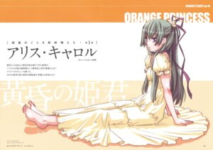 Rating: Safe Score: 17 Tags: alice_carroll amano_kozue aria dress feet User: hirotn