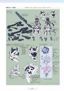 Rating: Questionable Score: 3 Tags: alice_gear_aegis character_design kakoi_kazuhiko leotard weapon yorishiro_eri User: Radioactive