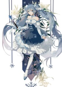 Rating: Safe Score: 43 Tags: dress hatsune_miku heels vocaloid weapon zhibuji_loom User: Mr_GT