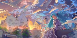 Rating: Safe Score: 42 Tags: geister hatsune_miku landscape vocaloid User: Zenex