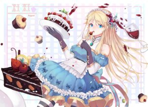 Rating: Questionable Score: 31 Tags: alice alice_in_wonderland caoxi_jun maid thighhighs User: sym455