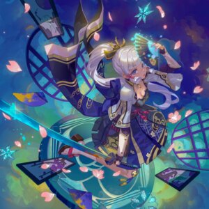 Rating: Questionable Score: 15 Tags: armor genshin_impact japanese_clothes kamisato_ayaka_(genshin_impact) sword tagme User: Mr_GT