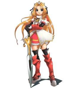 Rating: Safe Score: 7 Tags: armor gakuen_toshi_vara_noir grunert hirano_katsuyuki idea_factory seifuku sword thighhighs User: Radioactive