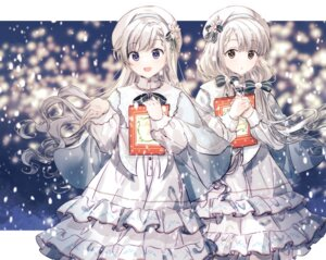 Rating: Safe Score: 18 Tags: christmas dress gocoli hisakawa_hayate hisakawa_nagi lolita_fashion the_idolm@ster the_idolm@ster_cinderella_girls User: leotard